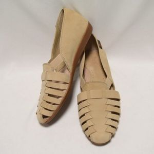 BASS WOMEN COLLEEN HEMP FLATS